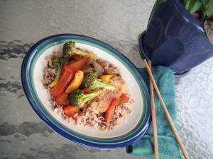 Chicken and Apricot Stir-fry