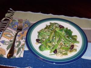 Mean Green Vegetarian Stir-fry